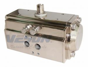 China Nickle Plated Quarter Turn Pneumatic Actuator , Rotary Air Actuator Anticorrosive on sale