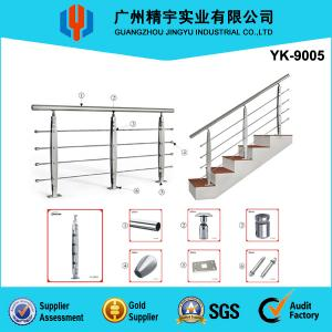 China American Standard Stainless Steel Solid Rods Deck Balustrade Railing System(YK-9005) on sale