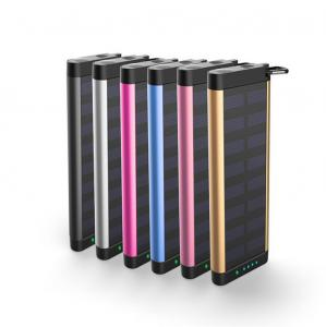China Outdoor Camping Solar Charger Power Bank LED Indicating Lamp For Iphone XS on sale
