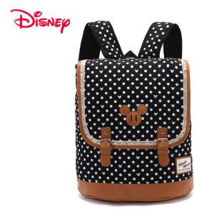 China fashion clothing accessories leftover stock-Japanese Disney Minnie Mouse canvas Backpack on sale