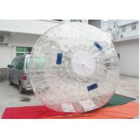 Soccer Inflatable Zorb Ball Manufacturing In 1.0 PVC / Body Zorbing Ball