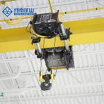 10T European Style Single Girder Overhead Crane Woking Class A5 Variable-Frequency