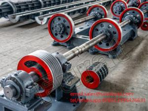 China Light Type Centrifugal Spinning Concrete Spun Pole Machine on sale