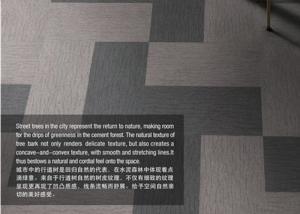 China Citybeat Sheet Vinyl Flooring 100% Solution Dyed Nylon Fiber Material 500×500 on sale