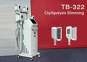 China 1800W Pain-free Cryolipolysis Slimming Machine With 4 Handles / Touch Color Screen on sale