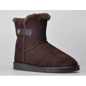 China Fashionable Youth / Womens Winter Snow Boots With Short Floss Lining on sale