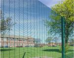 China Hot Dip Galvanized Outdoor Security Fencing12,7 X 76,2mm Various Gauge RHS Posts wholesale