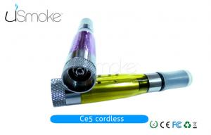 China no fiber rope electronic cigarette cordless CE5 clearomizer on sale