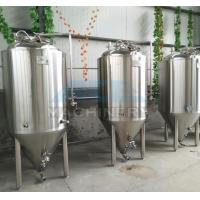 1000L Red Copper Shell Inner Stainless Steel Three Vessels Brewhouse with PU Instualtion