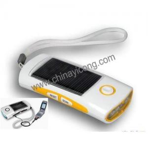 China Solar flashlight on sale