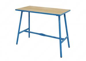 China DIY Mobile Collapsible Foldable Work Table , Garage Shop Bench 25mm Thick Plywood on sale