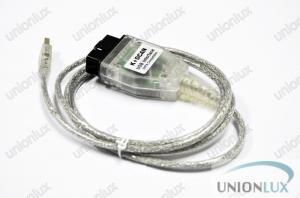 China Auto Diagnostic Cable Version Code Scanner For BMW Inpa K+Can on sale