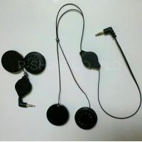 China Retractable headphone manufactory MP3 earphones in cap headphone beanie on sale