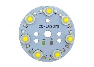 China 7 LEDs High Power Surface Mount Pcb Assembly , Led Pcb Plate With Aluminum Base Board on sale