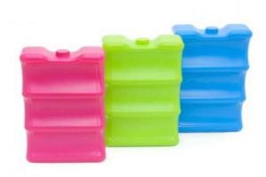 China Milk Storage Gel Ice Boxes Brick Dry Reusable Without GEL For Cooler Bag on sale
