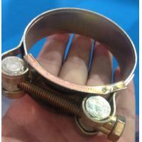 China W1-W5 single bolt hose clamp used for pipe clamp on sale
