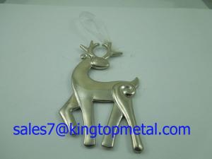 China 3D deer charm hang adorn,Made of zinc alloy ,Various shape&colors are ok,OEM&ODM ok on sale