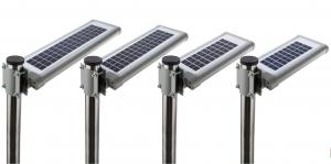 China All In One Integrated Solar Street Light / Compact Solar Light Street Lamp on sale