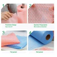 China Commercial Multi Purpose Cleaning Wipes / Dry Cleaning Wipes For Fabric on sale