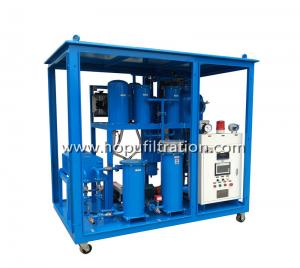 China Professional Oil Cleaning machine, Used lube oil purifier equipment, dehydration, impurity elimination, color viscosity on sale