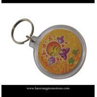 Latest Customized Your Own Logo Design Plastic Acrylic Keychain
