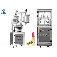 China Durable Cosmetic Cream Filling Machine 12 nozzles with Air Blowing Type Mould Releaser on sale
