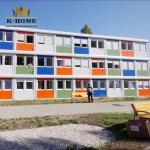 Quick Built Portable modular school building Sandwich Panel Door