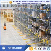 Very Narrow Aisle heavy duty pallet racking system ISO9001 CE certificated free design