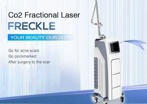 China Fractional Co2 Laser Stretch Marks Removal Machine / Skin Resurfacing Machine supplier