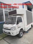 Hot sale Euro 5 gasoline 61hp JAC  mini mobile LED digital advertising truck, Factory sale best price JAC LED truck