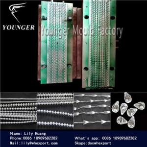 China el molde de fabricación de cadena de la máquina del balll redondo de la secuencia de las cortinas del hilo de las persianas del rulo de plástico moldea on sale
