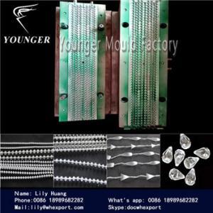 China las cortinas del rulo de plástico ciegan el molde de la cadena de la bola de la secuencia on sale