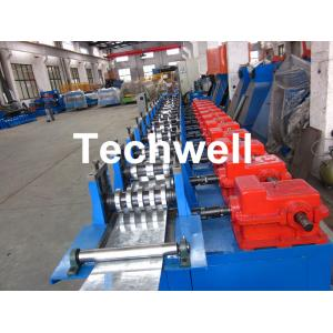 China Single Side Adjustable C Profile Roll Forming Machine , rollform equipment Hydraulic Pre Cutting on sale