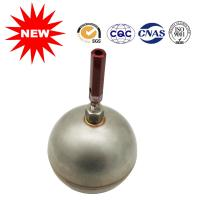 Compact Round Metal Float Ball With Handle Threaded Unidirectional Flow Direction