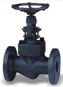 China 25A 10kg / cm2 x 127L Flanged Globe Valve STS304 HAND WHEEL on sale