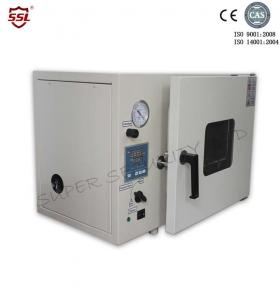 China Pid Controller Industrial Bench Top Laboratory Vacuum Drying Oven For Environment Protection on sale