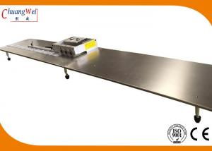 China 1200mm Aluminium PCB Depaneling Machine Cutting 5mm Width Panels on sale