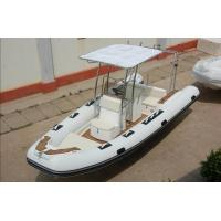 580cm Korea PVC   large center console inflatable rib boat rib580A big boat with teak floor