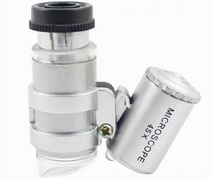 China Research Optical Medical Equipment / 45X LED Mini Pocket Microscope on sale