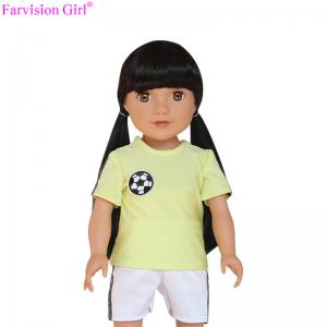 China Asian doll with sportswear oem baby dolls favision girl toys 18 real doll on sale