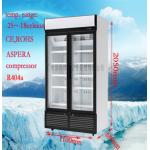 Modifique el congelador comercial de la exhibición para requisitos particulares para el restaurante/el supermercado