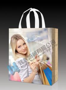 China custom logo printed shopping fabric carry tote non woven bag on sale
