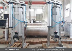 China Filtre de grattoir conduit par cylindre automatique de lame avec le matériel d'acier inoxydable on sale