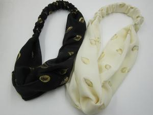China Tie Headwear Headband Black Beige Fashional Customized Headbands on sale