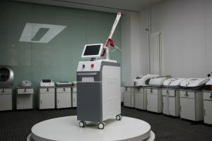 China Laser tattoo treatment machine nd-yag 1064nm q switched yag laser tattoo removal on sale