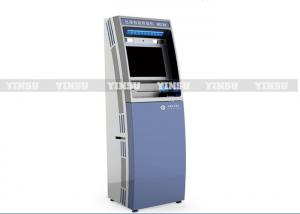 China Bar Code Scanner Self Service Kiosk 21.5 Inch Touch Screen With Pin Pad on sale