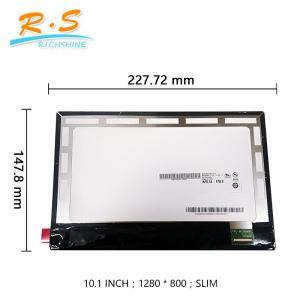 China 10.1 inch  LCD touch monitor Panel Assembly B101EAN01.5 For acer A3-A20 on sale
