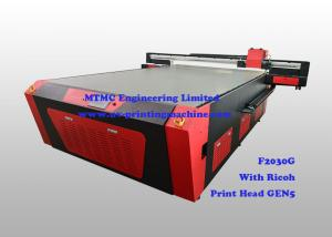 China High Resolution UV Glass Printing Machine , Digital 3D photo Printer on sale
