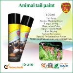 Краска маркировки аэрозоля Эко дружелюбная, животные краски маркировки для свиньи/овец/скотин