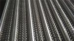 Stainless Steel Rib Lath Mesh , Hot Galvanized Expanded Metal Mesh